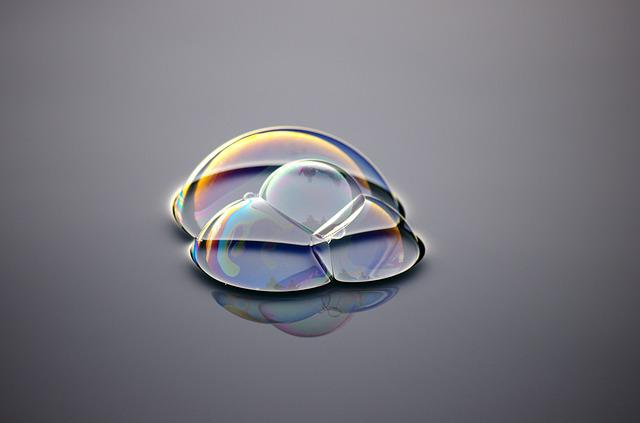 Bubble, Water, Wave, Mother Of Pearl, Floats, Shoal