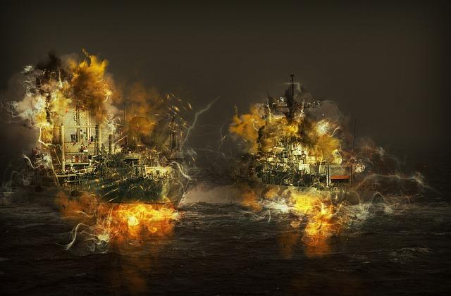 Ships, Vessels, Sea, Transportation, Cargo, Water