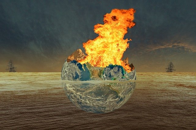 Earth, Fire, Water, World, Frigates, Conflagration