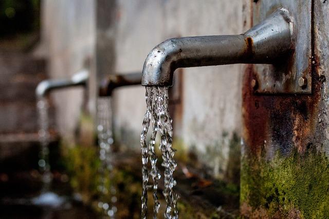 Faucet, Fountain, Water Dispenser, Water Running