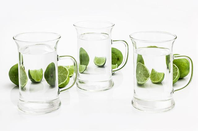 Glass, Drink, Water, Lime, Citrus, Liquid, Distortion