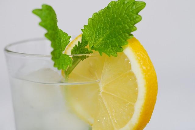 Lemon, Water, Drink, Fruit, Refreshment, Yellow