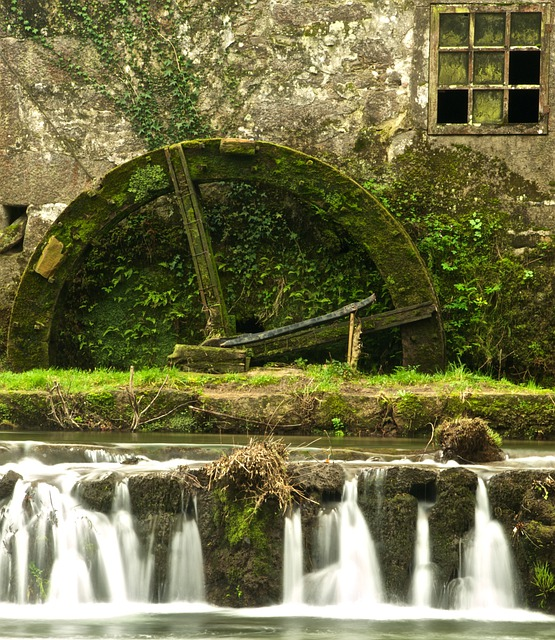 Watermill, Forjães, Esposende, Portugal, Water