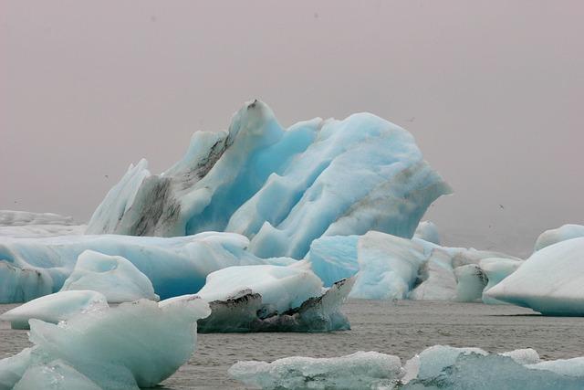 Iceberg, Iceland, Glacier, Water, Glacial, Lagoon, Blue