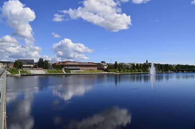 Skellefteå, Water, Himmel