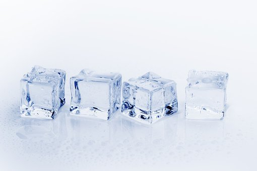 Ice Cubes, Ice, Water, Cold, Frozen, Refreshment, Cube