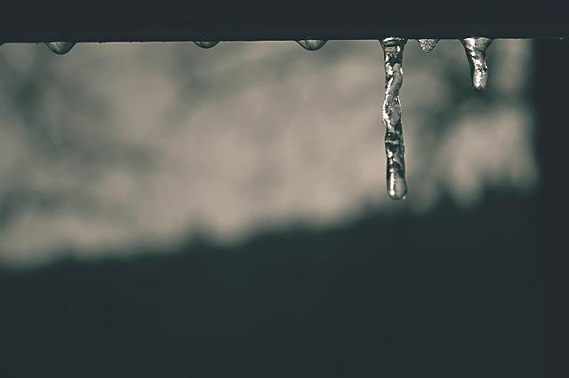 Winter, Icicle, Ice, Water