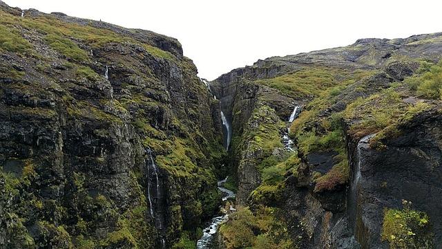 Waterfall, Landscape, Iceland, River Landscape, Water