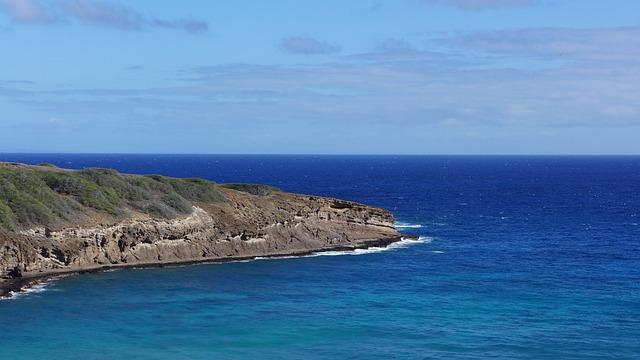 Beach, Sea, Water, Ocean, Sky, Blue, Island