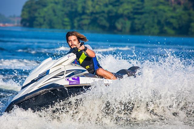 Jet Ski, Water Sport, Water Bike, Water, Boat, Ocean