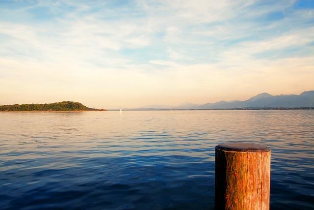 Chiemsee, Bavaria, Germany, Lake, Water, Nature
