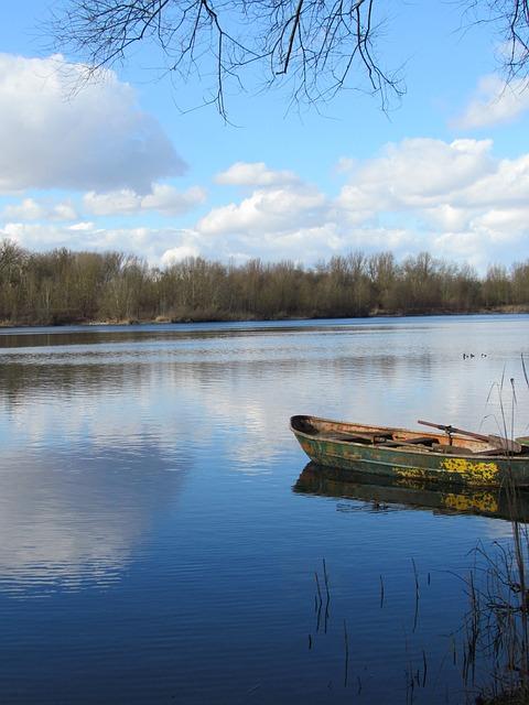 Lake, Water, Clouds, Fishing Lake, Mood, Mirroring