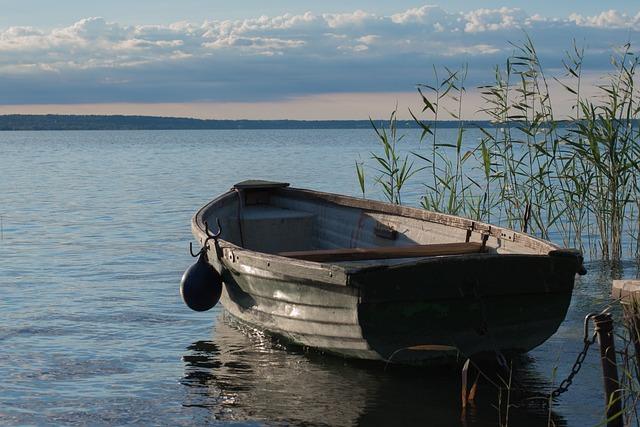 Lake, Lake Balaton, Water, Nature, Landscape, Boat