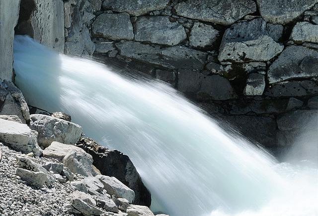 Water, Roaring, Water Mass, Inject