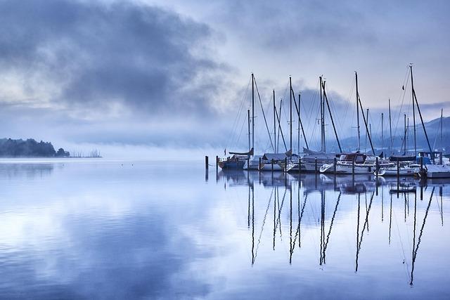 Lake Constance, Switzerland, Ash, Water, Mood, Sky