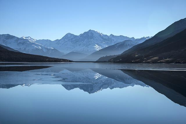 Reflection, Mountains, Lake, Snow Mountains, Water