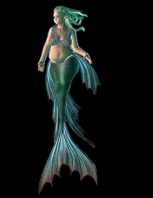Mermaid, Water, Creature, Woman, Siren, Mythology, Sea