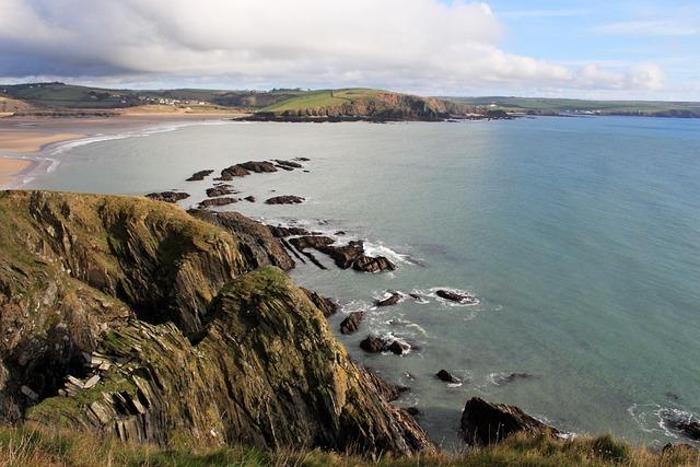 Coast, Beach, Sea, Water, Nature, Cornwall, Uk