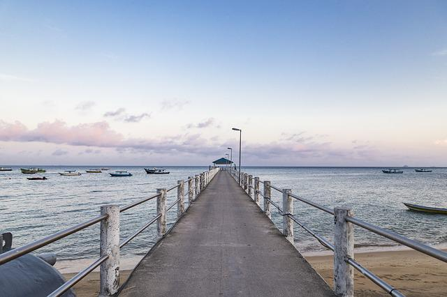 Water, Pier, Jetty, Sea, Sky, Nature, Outdoors, Travel