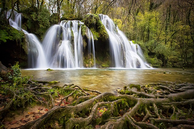Cascade, Waterfall, Water, Nature, Waterfalls