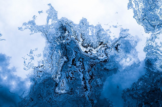 Water, Nature, Background, Abstract, Blue, Wave