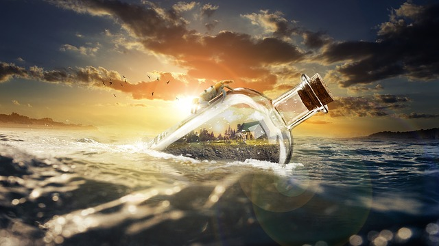 Sea, Sunset, Nature, Beautiful, Landscape, Water, Ocean