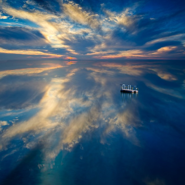 Water, Reflections, Waterscape, Seascape, Peaceful