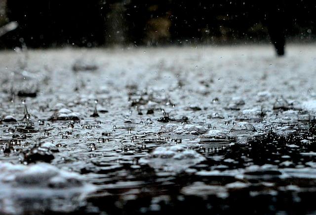 Drops, Rain, Rain Drops, Water, Liquid, Nature, Blue