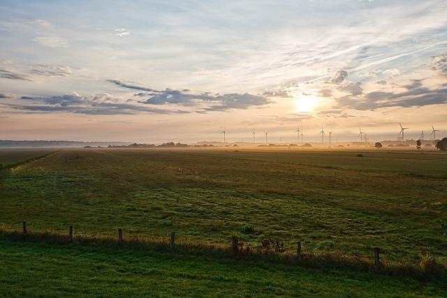 Sunrise, Bremen, River, Weser, Dawn, Water, Sky, Waters