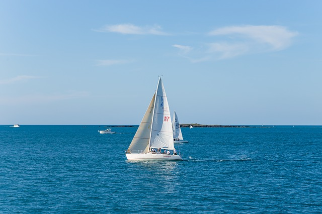 Water, Sea, Sailboat, Sail, Ocean, Nautical, Boat