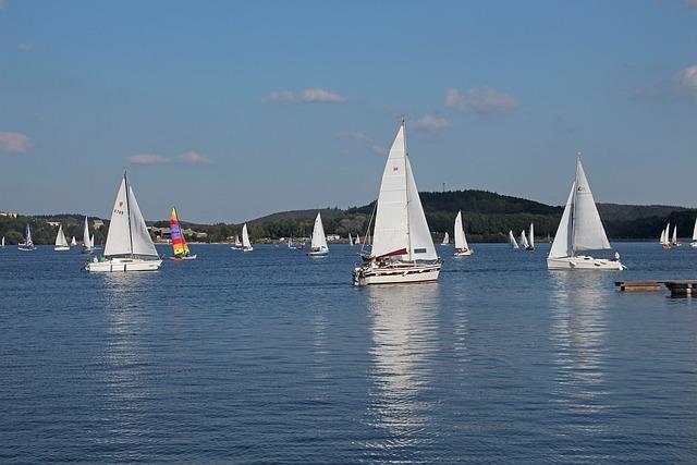 Summer Time, Summer, Sailing Boats, Water, Lake