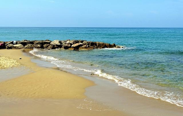 Sea, Water, Beach, Italy
