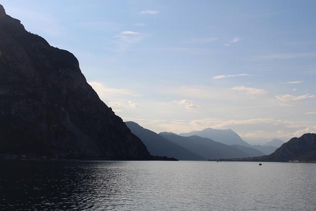 Lake, Lake Como, Landscape, Italy, Bellagio, Water, Sea