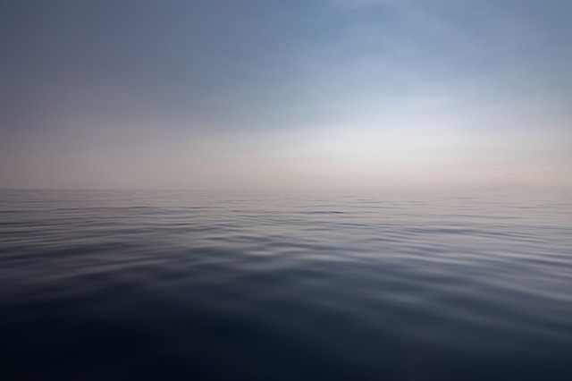 Sea, Water, Quiet, Horizon, Landscape, Seascape