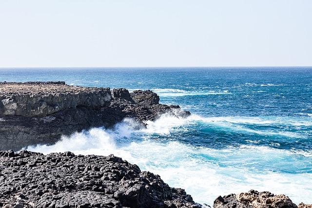 Sea, Wave, Cape Verde, Water, Spray, Blue, Surf
