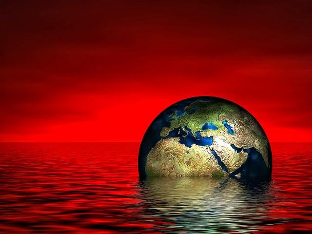 Earth, Globe, Water, Wave, Sea, Lake, Setting