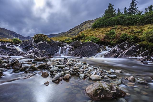 Landscape, River, Nature, Water, Slow Shutter