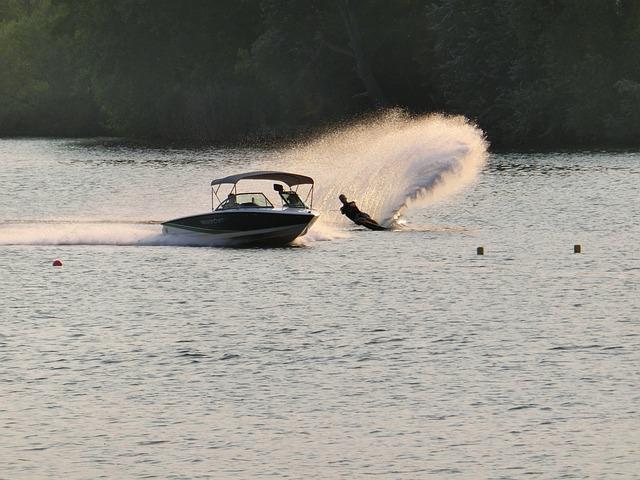 Water, Water Sports, Boot, Ski, Speedboat