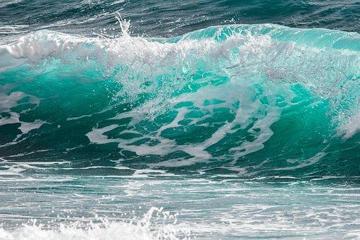 Surf, Wave, Sea, Water, Spray, Foam, Splash, Ocean
