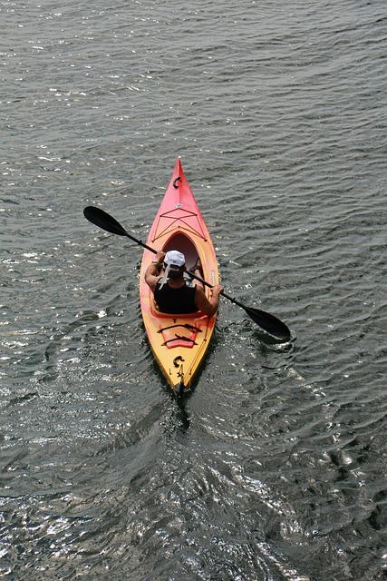 Montréal, Châteauguay, Water, Kayak, Sport