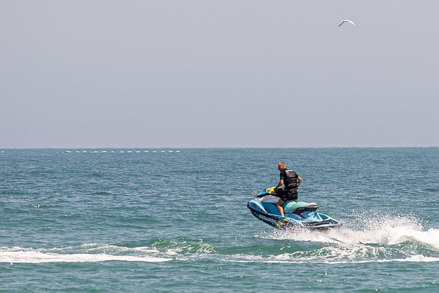 Water Sports, Jet, Sport, Water, Splash, Activity