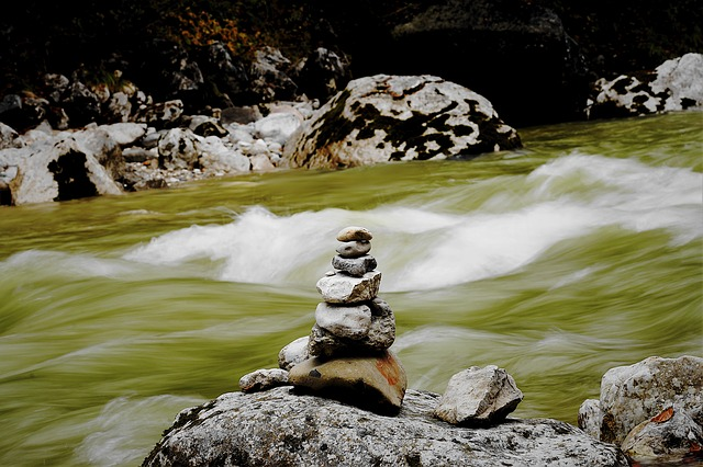 Tyrol, Fire Mountain, Water, Wave, Stones, Spray, Bach