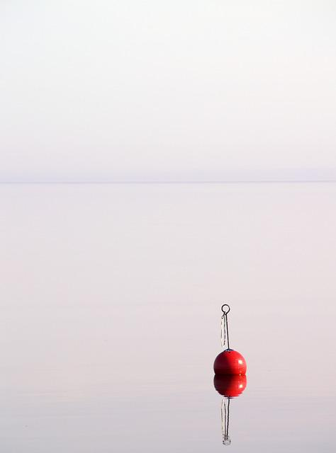 Summer, Buoy, Water, Late-summer, Sweden