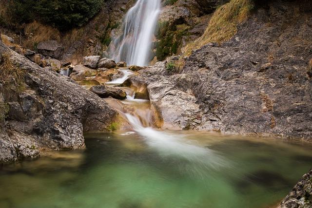 Nature, Rocks, Rocky, Time Lapse, Water, Waterfall