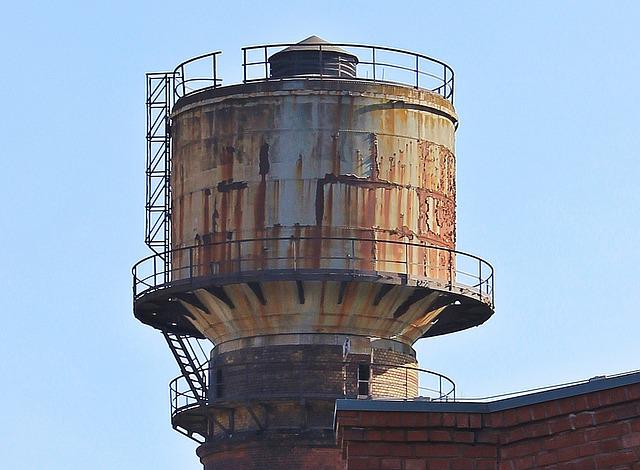 Water Tower, Old Water Tower, Tower, Architecture