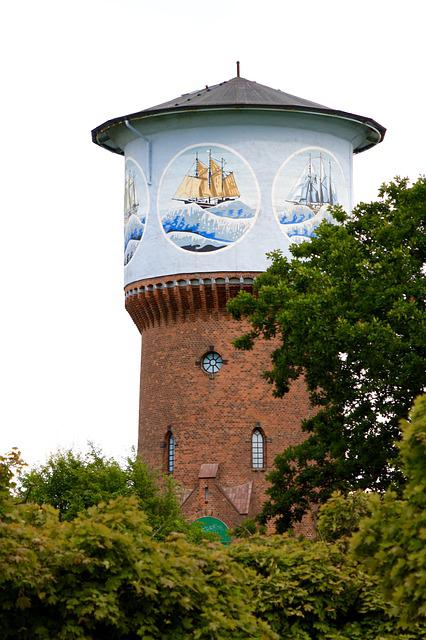 Kiel, Water Tower, Cultural Monument