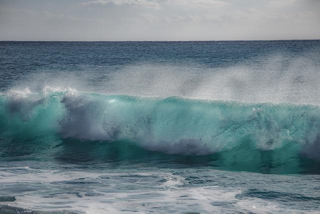 Water, Sea, Ocean, Wave, Nature, Foam, Turquoise, Spray