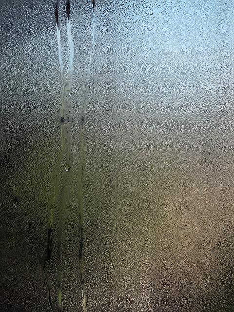 Glass, Drop Of Water, Fogging, Disc, Water Vapor, Wet