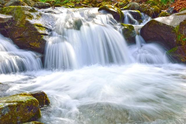 Waterfall, Water, Stream, Cascade, River