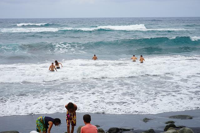 Water, Wave, Sea, Surfer, Fun Bathing, Beach, Lava